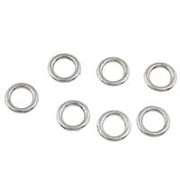 Zinklegierung Verbindungsring, Kreisring, antik silberfarben plattiert, frei von Blei & Kadmium, 7.5x1mm, Bohrung:ca. 5mm, 100G/Tasche, verkauft von Tasche
