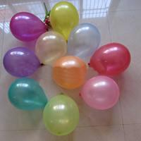 LatexMilchsaft Luftballon, gemischte Farben, 25cm, 200PCs/Tasche, verkauft von Tasche