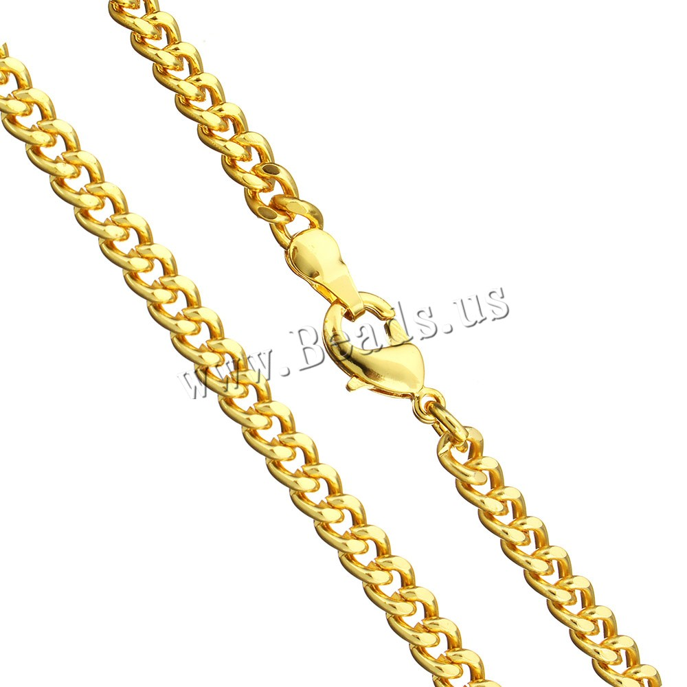 Buy Brass Chain Necklace 24K gold plated twist oval chain & man nickel lead & cadmium free 5x4x1mm Sold Per Approx 18 Inch Strand