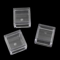 Schmuck Nagelkasten, Kunststoff, Quadrat, 25x25x18mm, verkauft von PC