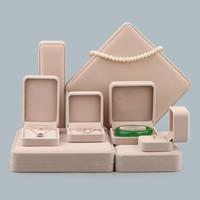 Baumwollsamt Schmuckset Kasten, mit Kleber Film, verschiedene Stile für Wahl, verkauft von PC