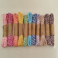 Ethnische Baumwollschnur, Hanfgarn, keine, 1-3mm, 10PCs/Tasche, verkauft von Tasche