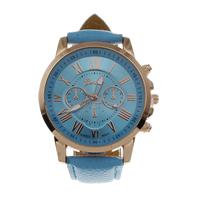 Damen Armbanduhr, PU Leder, mit Glas & Zinklegierung, plattiert, einstellbar & für Frau, keine, frei von Nickel, Blei & Kadmium, 40mm, 20mm, Länge:ca. 8 ZollInch, verkauft von PC