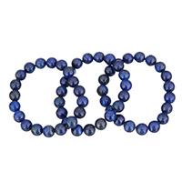 Natürliche Lapislazuli Armband, natürlicher Lapislazuli, verschiedene Größen vorhanden, verkauft per ca. 6.5 ZollInch Strang