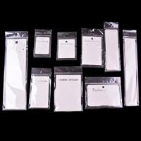Anzeigenkarte, Papier, mit OPP, Rechteck, verschiedene Stile für Wahl, 100SetsSatz/Tasche, verkauft von Tasche