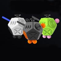 Kunststoff Fidget Cube, keine, 55x55x45mm, 3PCs/Tasche, verkauft von Tasche