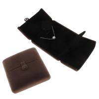 Baumwollsamt Halskettenkasten, mit Karton, 100x44mm, verkauft von PC