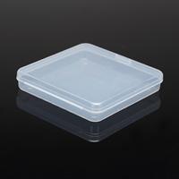Schmuck Nagelkasten, Polypropylen, Quadrat, 123x123x23mm, verkauft von PC