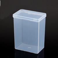 Schmuck Nagelkasten, Polypropylen, 78x50x110mm, 50PCs/Menge, verkauft von Menge