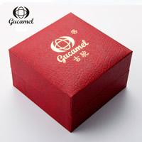Karton Uhrkasten, mit Schwamm, Rechteck, rot, frei von Nickel, Blei & Kadmium, 100x60x100mm, verkauft von PC