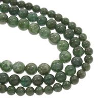 Edelstein-Span, Celadonite, rund, natürlich, verschiedene Größen vorhanden, Grad AAA, verkauft per ca. 15.5 ZollInch Strang