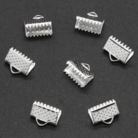 Eisen Bandklemmen, plattiert, verschiedene Größen vorhanden, keine, frei von Blei & Kadmium, 1000PCs/Tasche, verkauft von Tasche