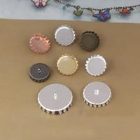 Messing Knopf Zubehöre, Flasche Saver, plattiert, keine, frei von Nickel, Blei & Kadmium, 12-25mm, 30PCs/Tasche, verkauft von Tasche