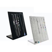 Baumwollsamt Kettenständer, mit Karton, keine, 250x200x100mm, 5PCs/Menge, verkauft von Menge