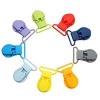 Kunststoff Schnullerhalter Zubehör, für Kinder, keine, 31x43x9mm, Bohrung:ca. 26x4mm, 10PCs/Menge, verkauft von Menge