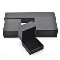 Karton Schmuckset Kasten, mit Baumwollsamt, verschiedene Stile für Wahl, frei von Nickel, Blei & Kadmium, verkauft von PC
