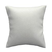 PU Leder Schmuckständer Kissen, mit Schwamm, Rechteck, weiß, 50-70x60-80x40-60mm, 20PCs/Tasche, verkauft von Tasche