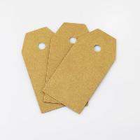 Kraftpapier Label- Tag, 45x90mm, 100PCs/Menge, verkauft von Menge