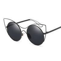 Art- und WeiseSonnenbrillen , PC Kunststoff, mit PC Kunststofflinse & Zinklegierung, plattiert, unisex & mit Bemaltung, keine, 141x54x142mm, verkauft von PC