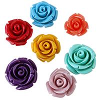 Harz Schmuckperlen, Blume, verschiedene Größen vorhanden, keine, verkauft von PC
