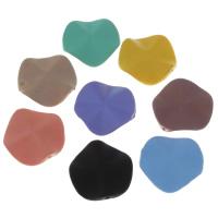 Volltonfarbe Acryl Perlen, gummierte, keine, 27x5mm, Bohrung:ca. 1mm, 500PCs/Tasche, verkauft von Tasche