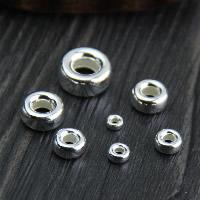 925 Sterling Silber Zwischenperlen, plattiert, verschiedene Stile für Wahl, verkauft von Menge
