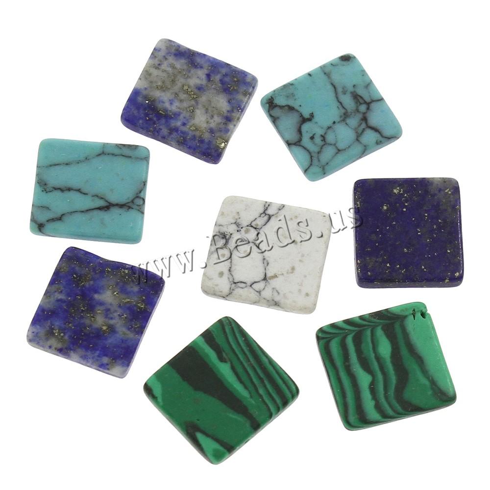 Buy Gemstone Jewelry Beads mixed & hole 12x13x2mm 5PCs/Bag Sold Bag