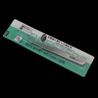 Zinklegierung Pinzette, Platinfarbe platiniert, frei von Blei & Kadmium, 130x16x4mm, verkauft von PC