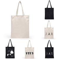 Einkaufstasche, Segeltuch, Rechteck, verschiedene Muster für Wahl, 320x400x20mm, verkauft von PC