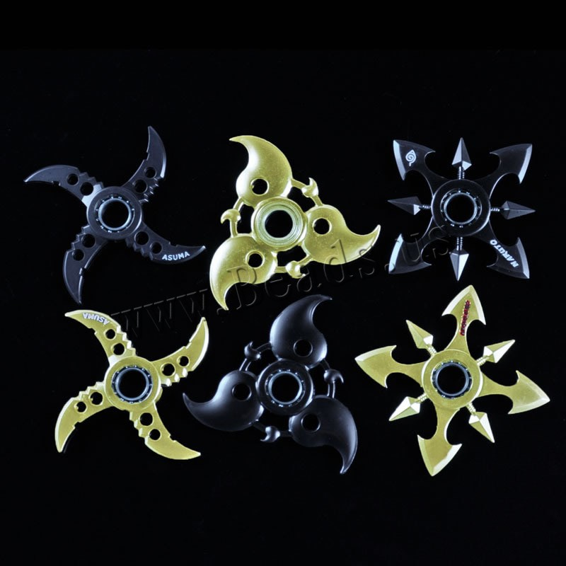 Buy Finger Hand Fidget Spinner Gyroscope Toys Zinc Alloy plated different styles choice lead & cadmium free 75-95mm Sold PC