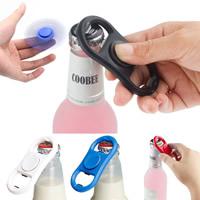 Finger Hand Spinner Gyroskop, Kunststoff, mit Edelstahl, mit Flaschenöffner, keine, 82x40x12mm, 5PCs/Tasche, verkauft von Tasche