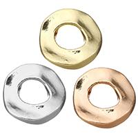 Zinklegierung Verbindungsring, Kreisring, plattiert, keine, frei von Nickel, Blei & Kadmium, 21x22x4mm, Innendurchmesser:ca. 9mm, 50PCs/Menge, verkauft von Menge