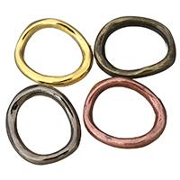 Zinklegierung Verbindungsring, plattiert, keine, frei von Nickel, Blei & Kadmium, 18x21x3mm, Innendurchmesser:ca. 12x15mm, 100PCs/Menge, verkauft von Menge