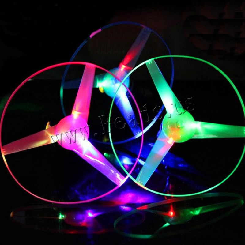 Light-Up Toys Plastic children & LED mixed colors 250mm 10PCs/Bag Sold Bag