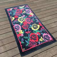 Mode Bad Strandtuch, Baumwolle, Rechteck, verschiedene Muster für Wahl, 170x85cm, verkauft von PC