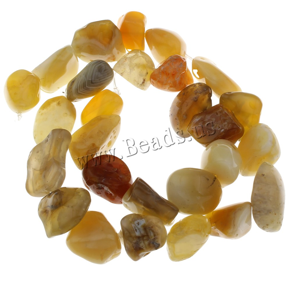 Buy Bamboo Agate Beads 15x9x80-20x15x1mm Hole:Approx 1mm Approx 27PCs/Strand Sold Per Approx 14.5 Inch Strand