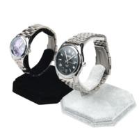 Uhrenständer, Baumwollsamt, mit Karton & Eisen, keine, 80x95mm, 10PCs/Menge, verkauft von Menge