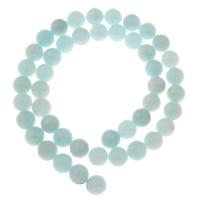 gefärbter Marmor Perle, rund, Nachahmung amazonit & verschiedene Größen vorhanden, Bohrung:ca. 1mm, verkauft per ca. 15 ZollInch Strang