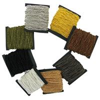 Eisen Kette, mit Kunststoffspule, plattiert, verschiedene Größen vorhanden, keine, frei von Blei & Kadmium, 10m/Tasche, verkauft von Tasche