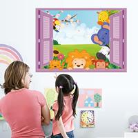 Wand-Sticker, PVC Kunststoff, Klebstoff & wasserdicht, 675x480mm, verkauft von PC