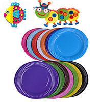 Papier für Kinder, gemischte Farben, 180mm, 2Taschen/Menge, 10PCs/Tasche, verkauft von Menge