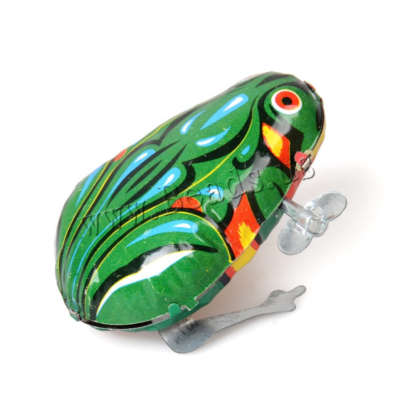 Wind-Up Toys Iron Frog children 40x50x70mm Sold PC