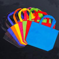 Mode Geschenkbeutel, Nichtgewebte Stoffe, Quadrat, verschiedene Größen vorhanden, keine, 10PCs/Menge, verkauft von Menge
