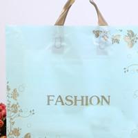 Mode Geschenkbeutel, Kunststoff, Quadrat, verschiedene Größen vorhanden & mit Brief Muster, 10PCs/Menge, verkauft von Menge