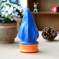 Kunststoff Streich Spielzeug, verschiedene Stile für Wahl, keine, 58x37mm, verkauft von PC