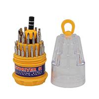 Multifunktions-Schraubendreher, Stahl, mit Kunststoff, 55x115mm, verkauft von setzen