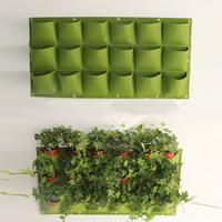 Wandbehang Taschenbeutel, Nichtgewebte Stoffe, verschiedene Stile für Wahl, grün, 1x0.5m, verkauft von PC