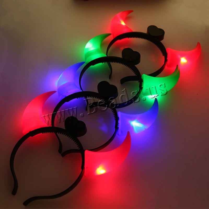 Buy Light-Up Toys Plastic Plastic Horn children & LED colors choice 200x190mm 5PCs/Bag Sold Bag