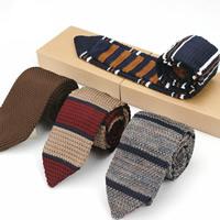 Krawatten, Polyester, stricken, verschiedene Muster für Wahl & für den Menschen, 145x7cm, verkauft von PC