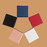 Ohrringe Kasten, Papier, mit Schwamm, Quadrat, 50x50x30mm, 100PCs/Menge, verkauft von Menge